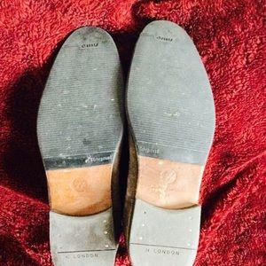 Vintage Shoes - Light Brown Suede Chelsea Boots